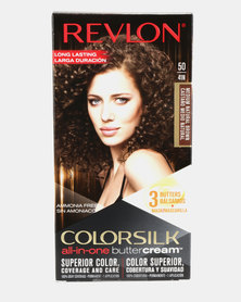 Revlon Luxurious Colorsilk Buttercream Permanent Hair Color Medium Brown