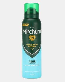 MITCHUM Triple Odor Defense Invisible For Men 48 Hour Anti-Perspirant & Deodorant Spray Clean Control