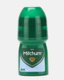 MITCHUM Triple Odor Defense Invisible For Men 48 Hour Anti-Perspirant & Deo Roll-On Unscented