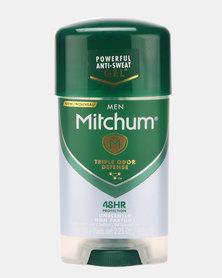 MITCHUM Triple Odor Defense Invisible Power Gel Form Men 48 Hour Anti-Perspirant & Deodorant Unscented