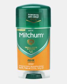 MITCHUM Triple Odor Defense Invisible Power Gel Form Men 48 Hour Anti-Perspirant & Deodorant Sport