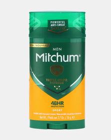MITCHUM Triple Odor Defense Invisible Solid For Men 48 Hour Anti-Perspirant & Deodorant Sport