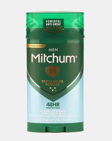 MITCHUM Triple Odor Defense Invisible Solid For Men 48 Hour Anti-Perspirant & Deodorant Clean Control