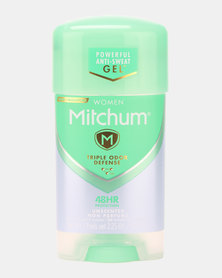 MITCHUM Triple Odor Defense Invisible Power Gel For Women 48 Hour Anti-Perspirant & Deodorant Unscented