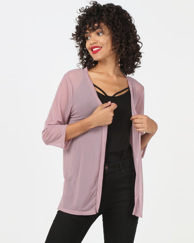 Utopia Mesh Cover Up Dusty Pink