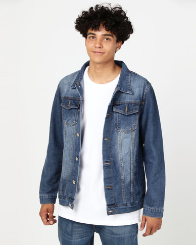 Utopia Denim Trucker Jacket Blue