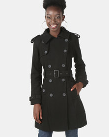 Assuili Long Coat Black