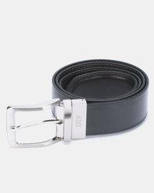 JCrew Reversible Belt Choc/Black