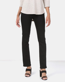 Queenspark Core Programme Woven Denim Jeans Black