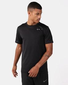 Nike Performance M Nk Brt Top SS Vent Black