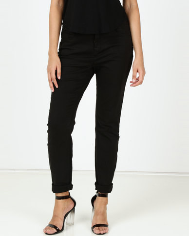 Utopia Stretch Push Up Jeans Black