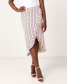 Ivyrevel Sheylo Skirt Candy Stripe