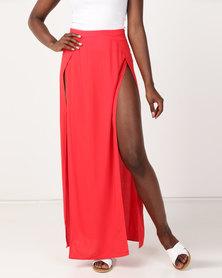 Ivyrevel Cheri Skirt Hot Red