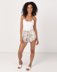 Billabong Club Troppo Shorts Bisque