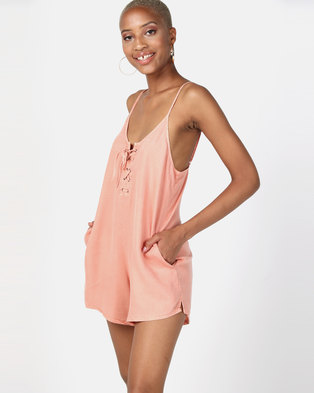 Billabong Vida Playsuit Peach