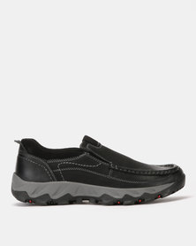 Grasshoppers Chubby Slip On Sneakers Black