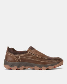 Grasshoppers Chubby Slip On Sneakers Coffee