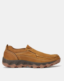 Grasshoppers Chubby Slip On Sneakers Tan