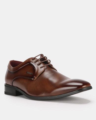 best sneakers 623bc 2340e Anton Fabi Mauri Lace Ups Brown   Zando