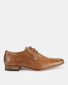 Michael Daniel Leather Formal Shoes Tan