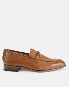 Michael Daniel Leather Formal Shoes Tan