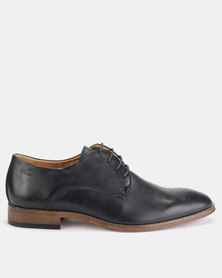 Michael Daniel Leather Formal Shoes Navy