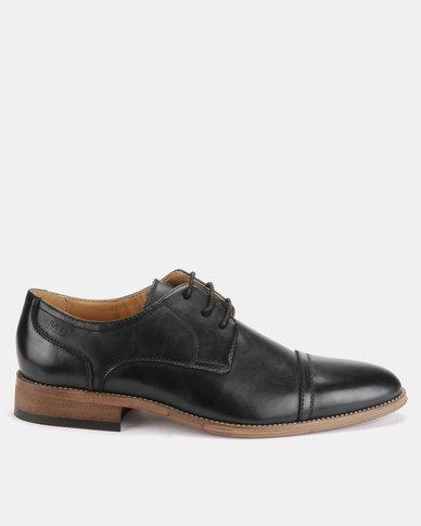 Michael Daniel Leather Formal Shoes Black