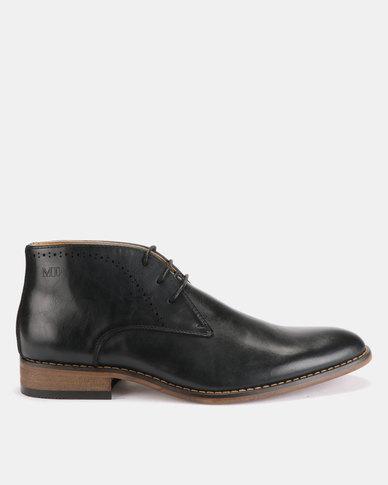 Michael Daniel Ankle Boots Black