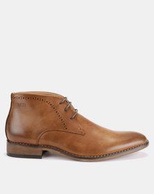 Michael Daniel Ankle Boots Tan