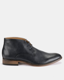 Michael Daniel Ankle Boots Navy