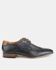 Michael Daniel Leather Formal Shoe Navy/Tan