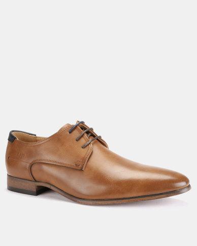 Michael Daniel Leather Formal Shoes Tan/Navy