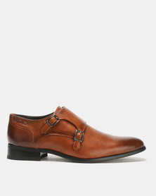 Gino Paoli Monk Formal Shoes Tan