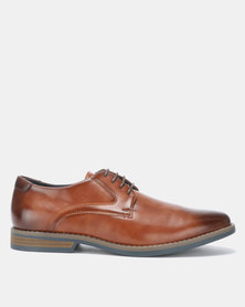 Gino Paoli Formal Lace Ups Tan