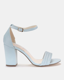 Gino Paoli Block Heel Sandals Blue