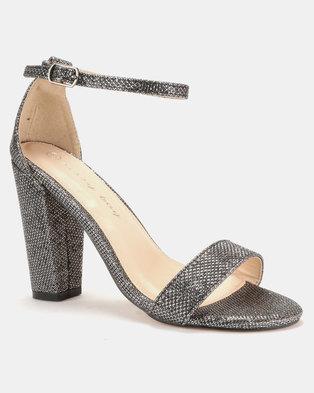3b84ab5ccf6a Sissy Boy Lurex Block Heel Sandals .
