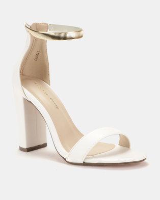 750c5641d9b5 Sissy Boy Metallic Ankle Strap Block .