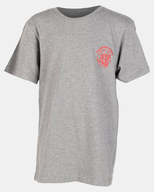 Element Boys Skullhead SS Tee Grey