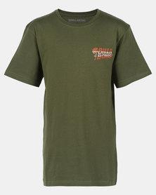 Billabong Selector Short Sleeve Tee Light Military