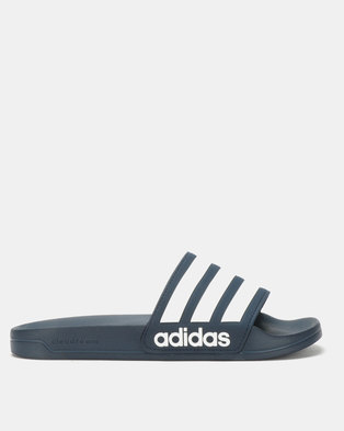 1afbac9dc3ff2 adidas Originals Adilette Shower Navy