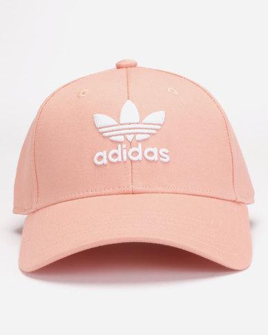 4a1471040cc adidas Originals Baseball Classic Cap Trefoil Pink