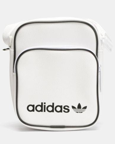 e8323b250edb adidas Originals Mini Bag Vintage White