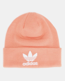 adidas Originals Trefoil Beanie Dust Pink/White
