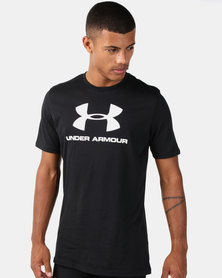 Under Armour Sportstyle Logo SS Black