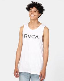 RVCA BIG RVCA TANK WHITE/BLACK
