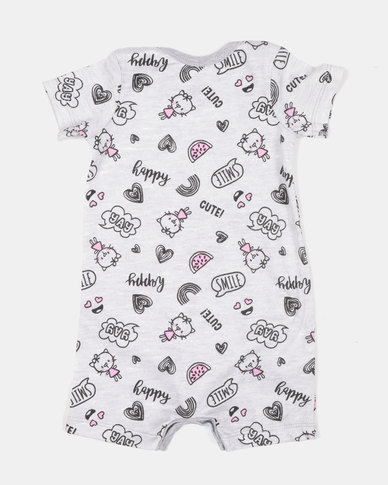 432da3b14 Creative Design Cute Slogan Onesie Grey | Zando