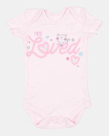 Creative Design I'm So Loved Vest Pink