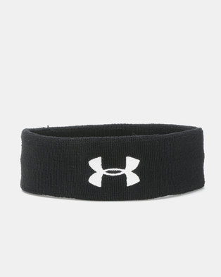 huge selection of 3a491 e7a1d Under Armour Performance Headband Black
