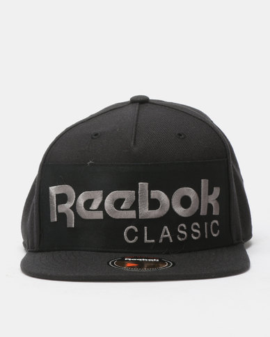 ed4dedf312c Reebok Classics Foundation Cap Black