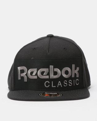 Reebok Classics Foundation Cap Black dca709b37e6e